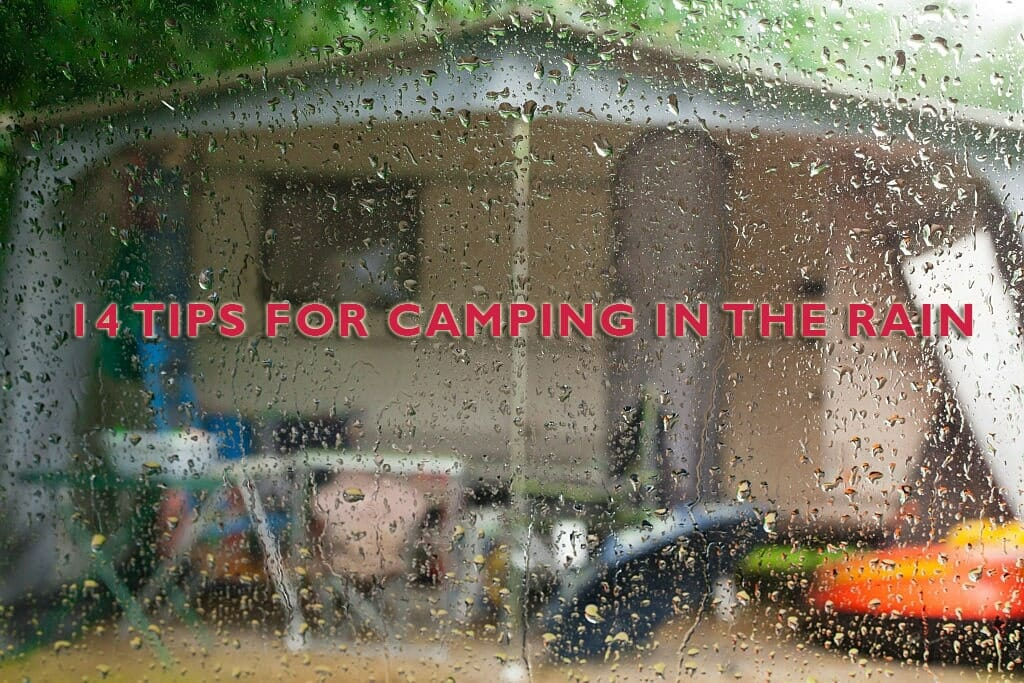 What To Do When It Rains While Camping