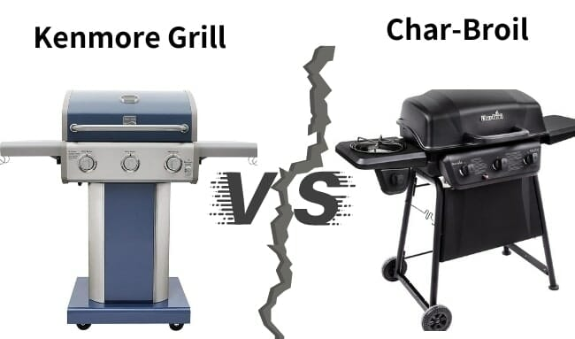 Kenmore Grill Vs Char Broil