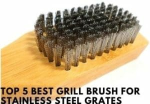 Top 5 Best Grill Brush For Stainless Steel Grates
