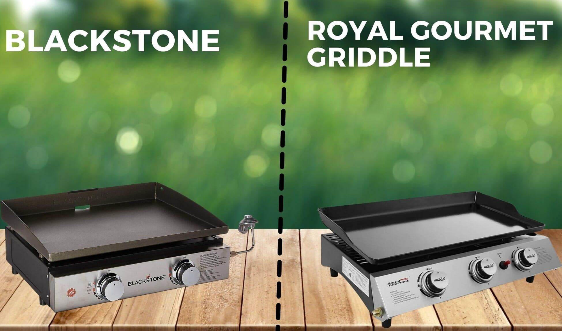 royal gourmet griddle vs blackstone