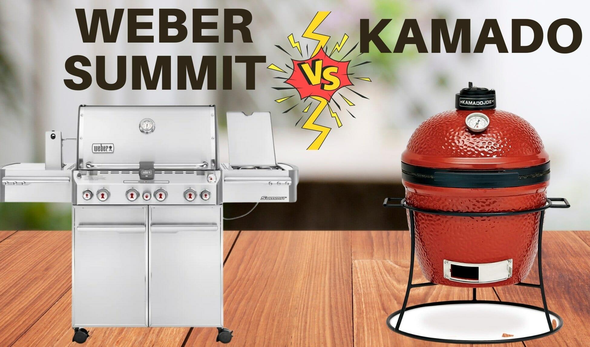 weber summit vs kamado