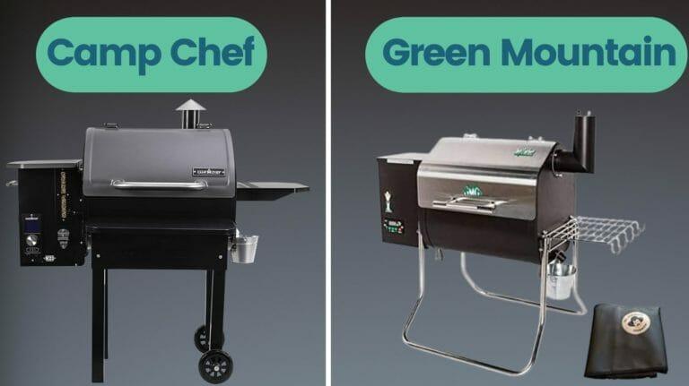 camp chef vs green mountain