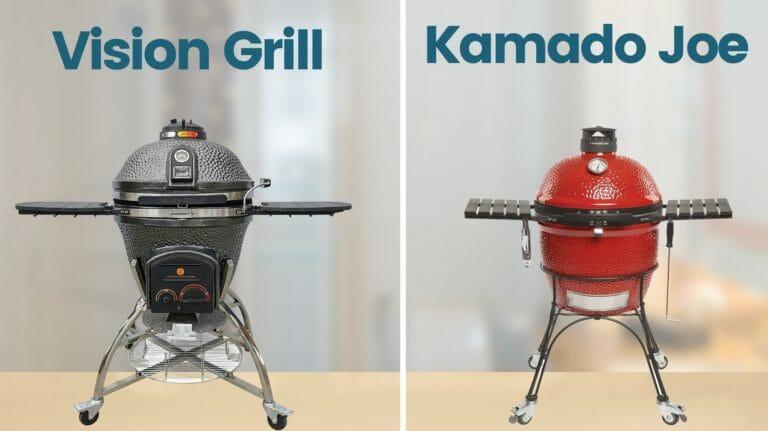 vision grill vs kamado joe