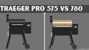 traeger pro 575 vs 780
