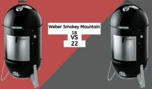 weber smokey mountain 18 vs 22