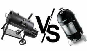 offset smoker vs weber smoky mountain 1