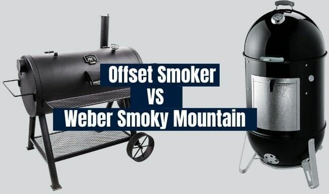 offset smoker vs weber smoky mountain