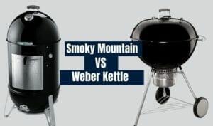 weber kettle vs smoky mountain