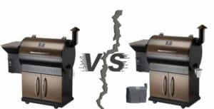 z grills zpg 700c vs 700d2