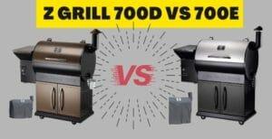 z grill 700d vs 700e