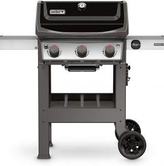 Weber 45010001 Spirit Ii E 310 3 Burner Liquid Propane Grill, Black